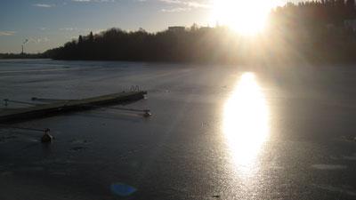 Morgen in Jyväskylä © Günter Brus