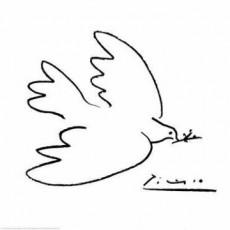 """Pablo Picasso (""""Friedenstaube"""")"""